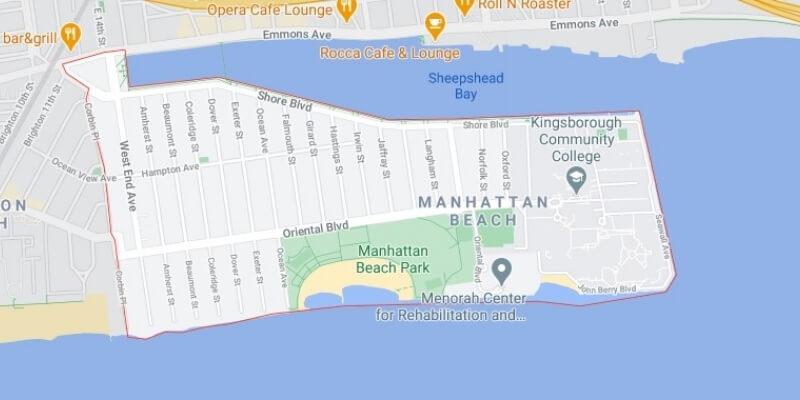 garage door Manhattan Beach map Mr Garage Door Repairman