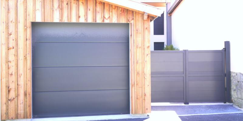modern aluminum garage doors Mr. Garage Door Repairman
