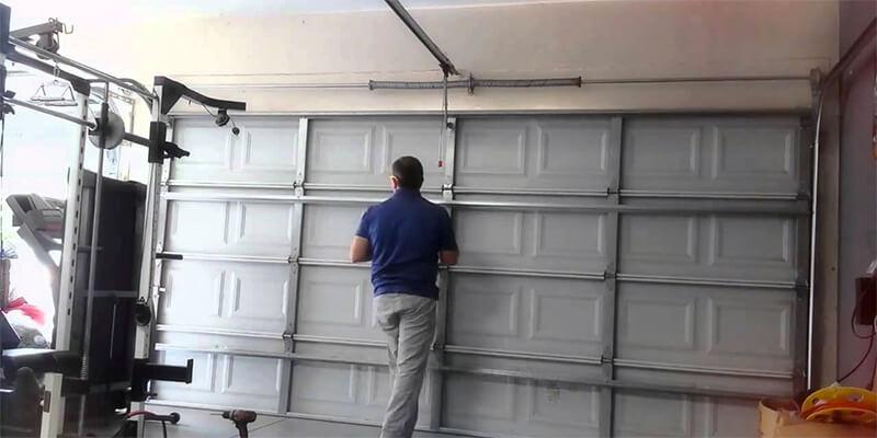 Garage Door Strut Installation - Mr. Garage Door Repairman